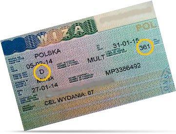 Воеводская виза в Польшу