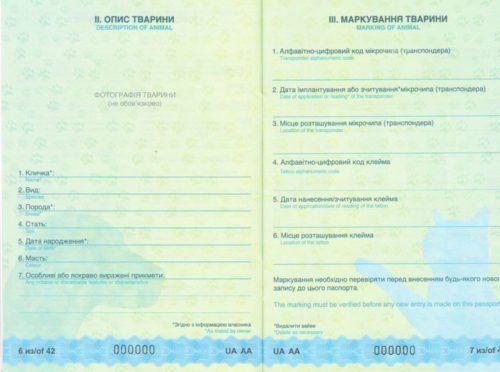 Документи для вивозу собак і кішок за кордон