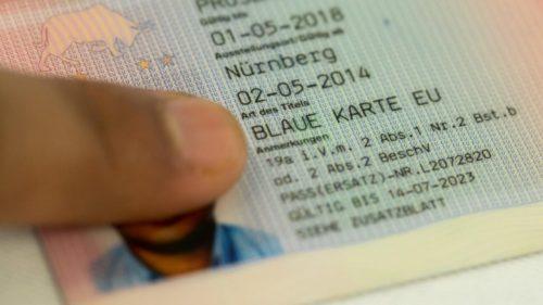Голубая карта в Германии кто может получить Blaue Karte EU?
