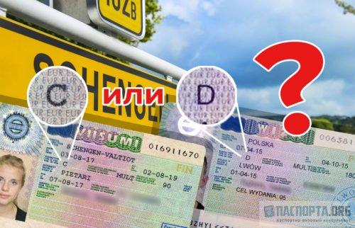 Різниця між національною і шенгенською візою