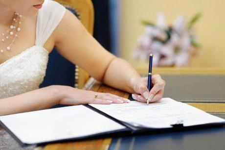Укладання шлюбу з німцем Зміна прізвища