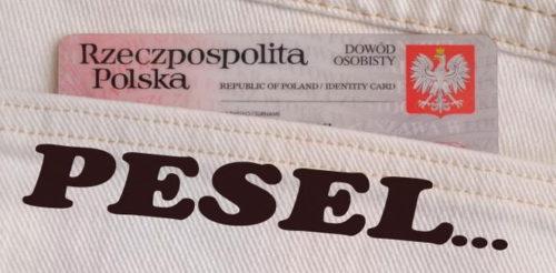 PESEL в Польше (Всеобщая электронная система учета населения)