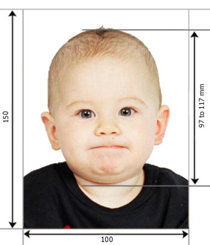 Закордонний паспорт для дитини фото