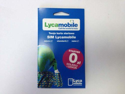 Мобильный оператор Lycamobile