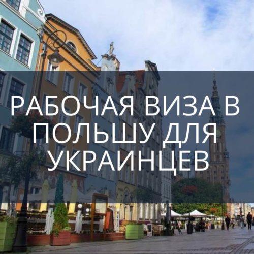 Рабочая виза в Польшу для украинцев: для чего она нужна и как ее получить