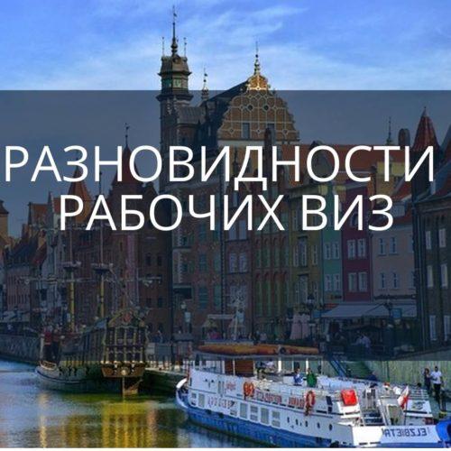 Какие бывают типы виз в Польшу?