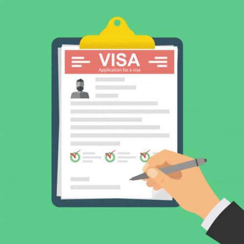 Как проверить дату подачи документов на визу