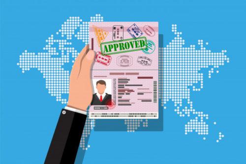 Як забрати паспорт з відкритою візою з візового центру