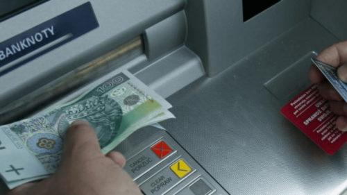 Получение денег дома через банкомат с польской карточки