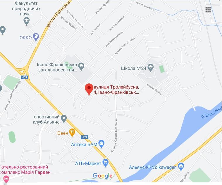 Визовый центр Чехии в Ивано-Франковске